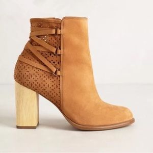 Anthro Miss Albright Cottage Booties